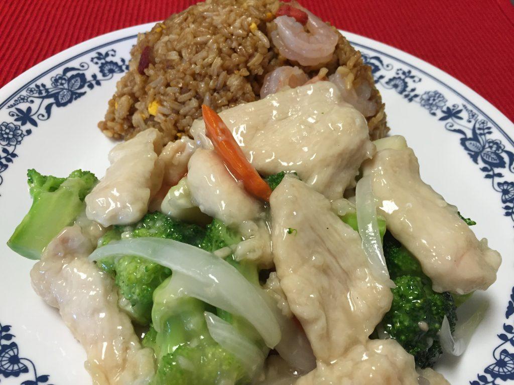 Chicken & Broccoli (White sauce)