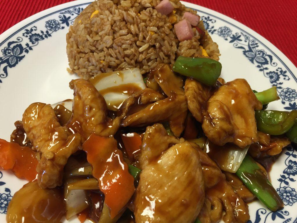 Chicken & Vegetables (Brown Sauce)