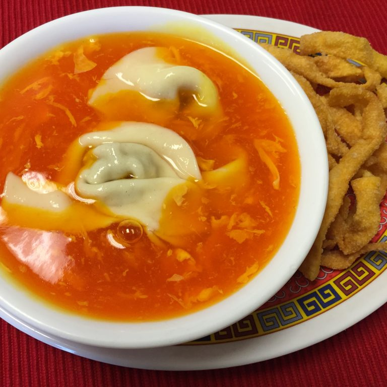 Wonton-Egg Drop Soup
